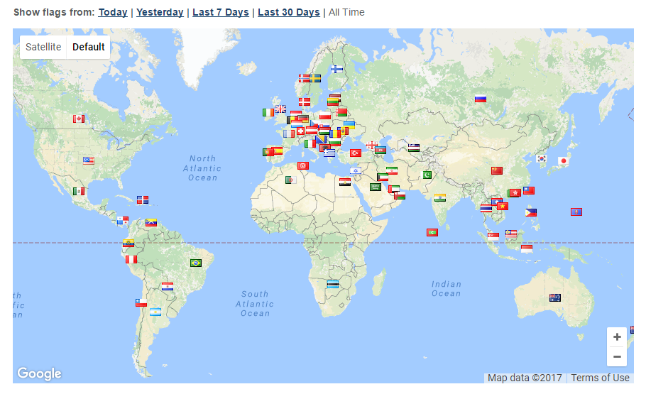hotel-travel-blogger-analytics-world-traffic-map